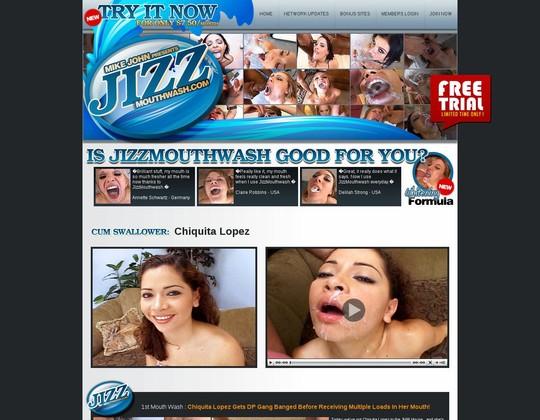 Jizzmouthwash:
