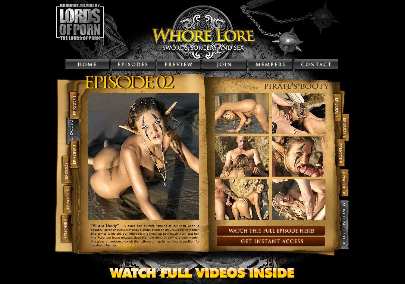 Free whore lore porn hardcore clip