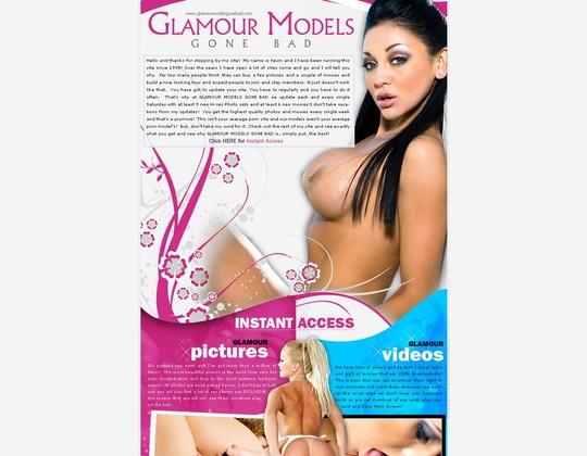 Glamour Models Gone Bad