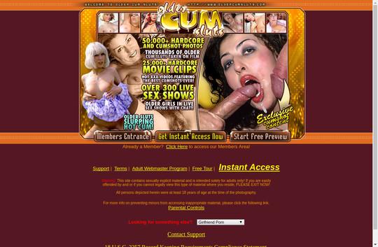 Older Cum Sluts
