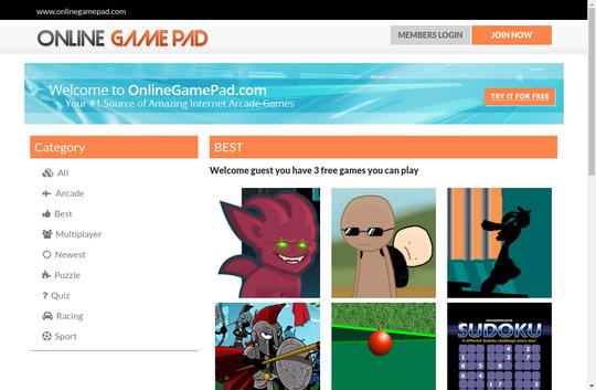 Online Game Pad