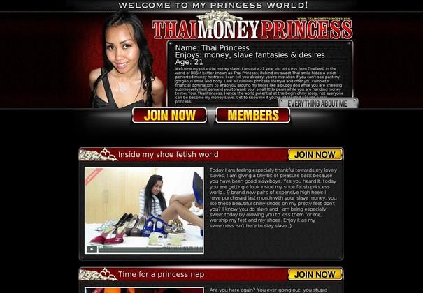 Thai Money Princess