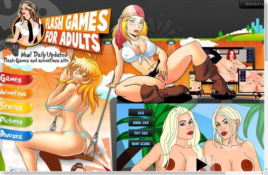 online flash games for adults