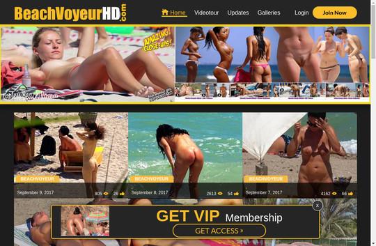 Beach Voyeur HD