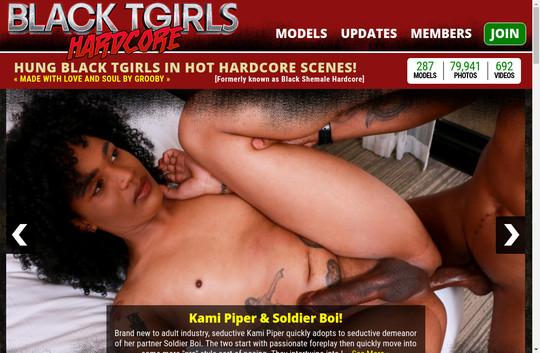 Black T Girls Hardcore