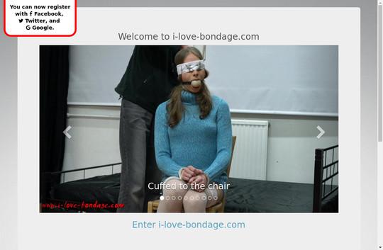 I Love Bondage