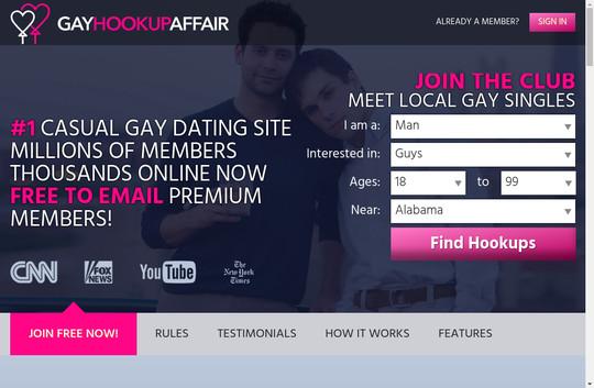 Gay Hookup Affair