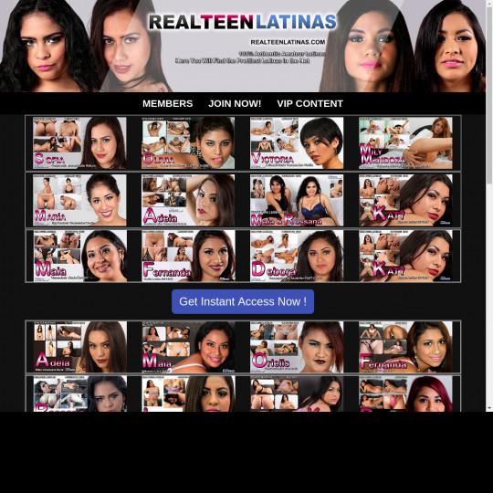 Real Teen Latinas