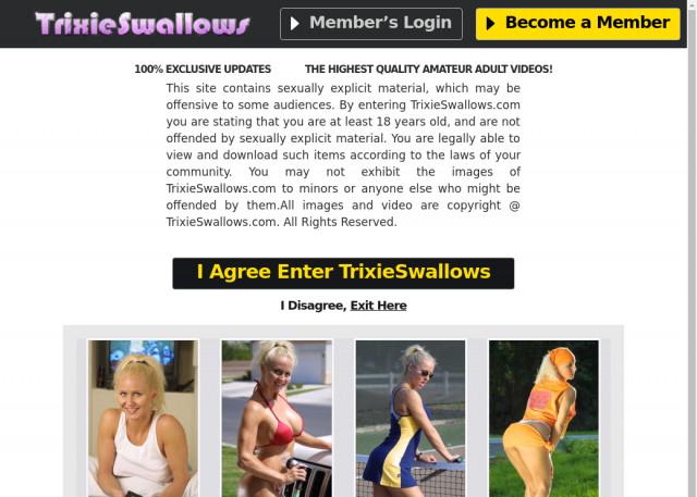 trixie swallows