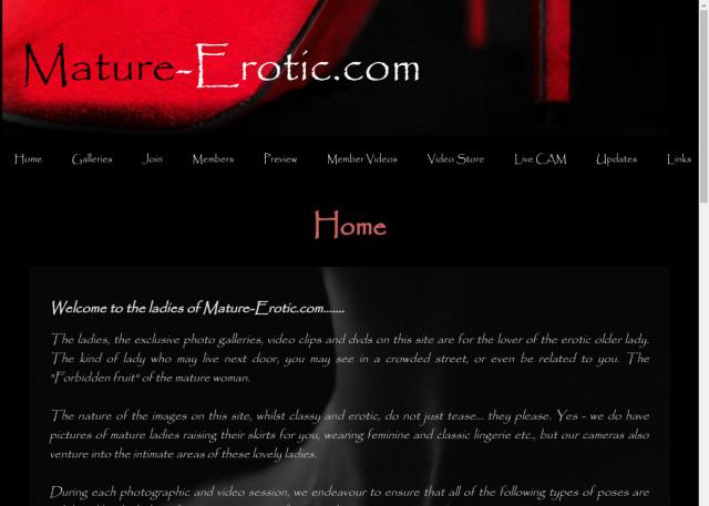 mature erotic