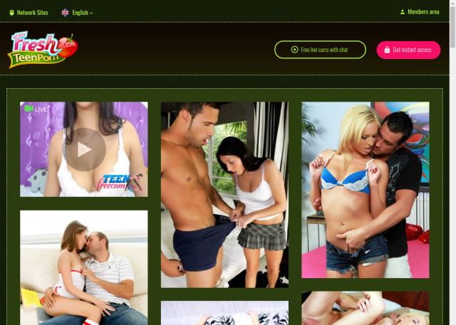 fresh teen porn
