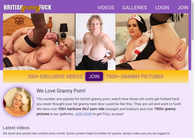 british granny fuck