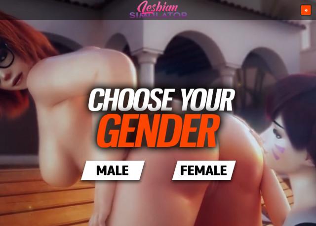 lesbian sex simulator