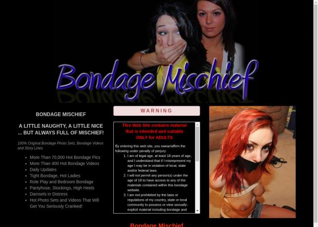 bondage mischief
