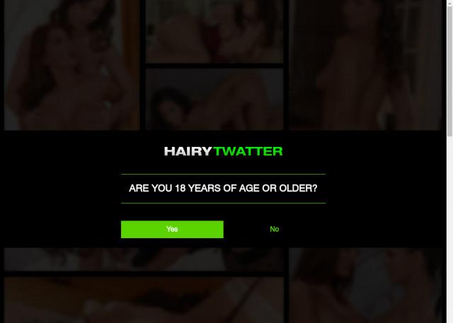hairy twatter