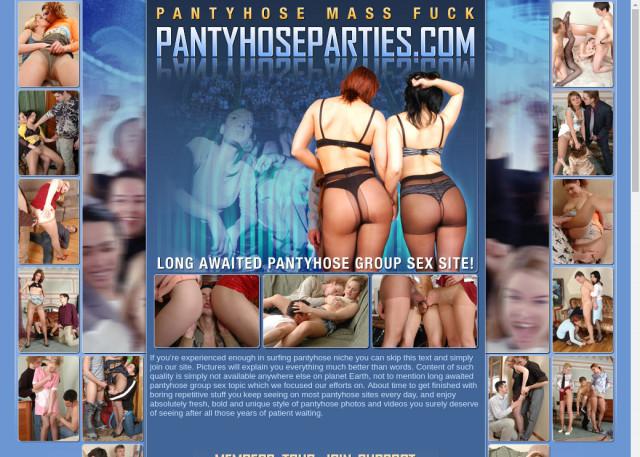 pantyhose parties