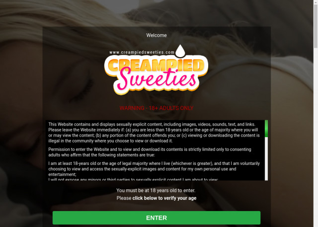 creampied sweeties