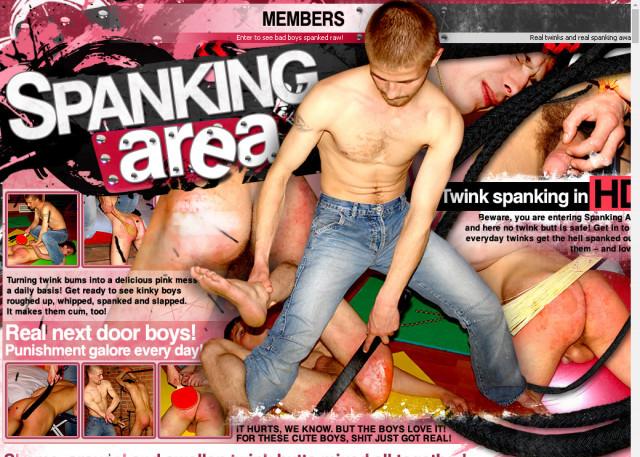 spanking area