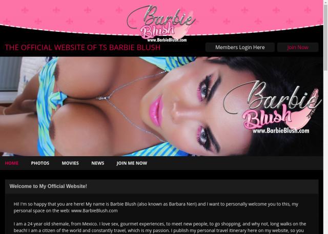 barbie blush